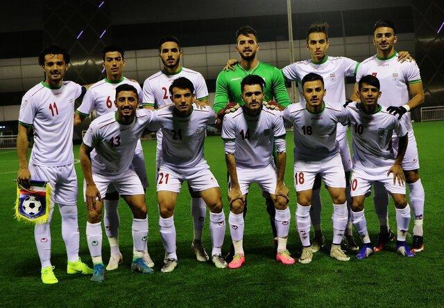 ترکیب تیم ملی امید در نخستین بازی انتخابی المپیک 2020