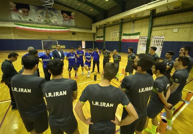 اعلام اسامی 20 بازیکن برای حضور در اردوی تیم ملی فوتسال