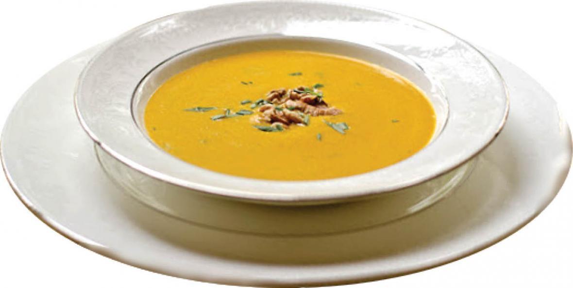 طرز تهیه سوپ گردو با خامه