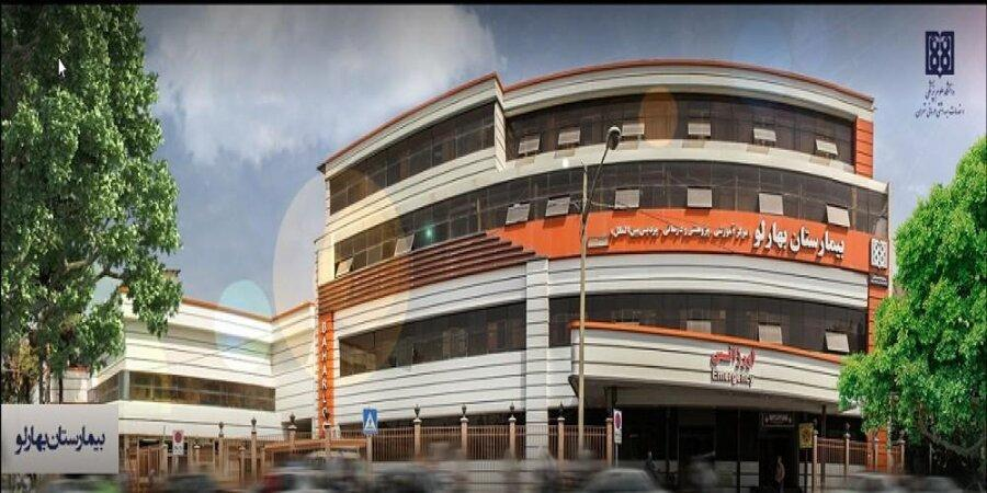 اهدای مخزن 10 تنی اکسیژن به بیمارستان بهارلو