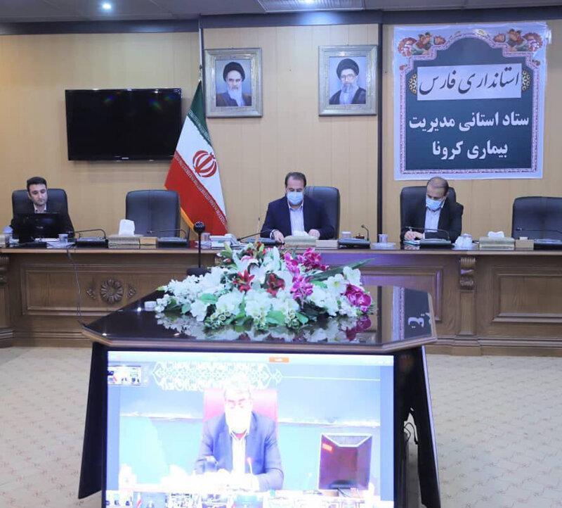 توقیف 27 خودرو و پلمب 282 واحد صنفی فارس در طرح فاصله گذاری اجتماعی