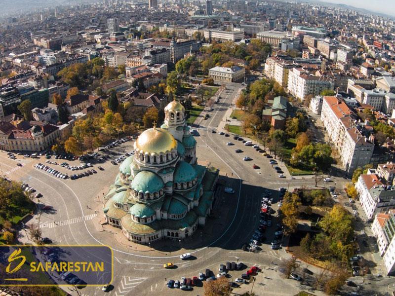 بلیط هواپیما به صوفیه پایتخت جوان اروپا