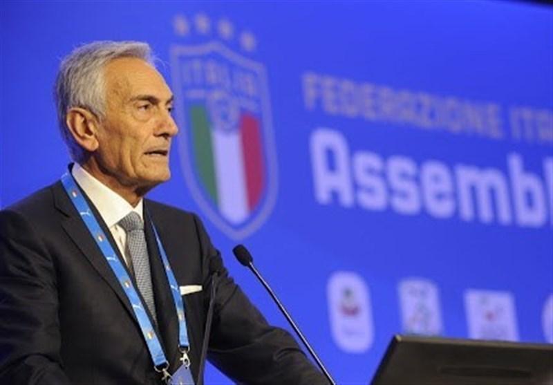 گراوینا: نمی خواهم نعش کش فوتبال ایتالیا باشم، مطمئنم فصل را از سر می گیریم