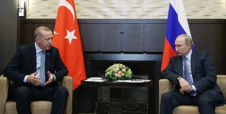 رایزنی پوتین و اردوغان درباره تداوم همکاری هسته ای