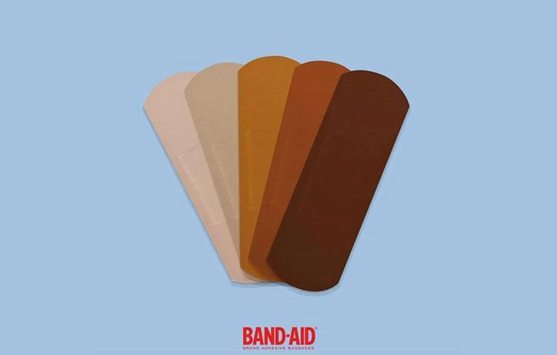 چسب زخم علیه نژادپرستی!