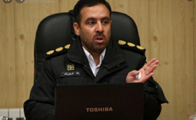 رئیس پلیس راه آذربایجان شرقی منصوب شد