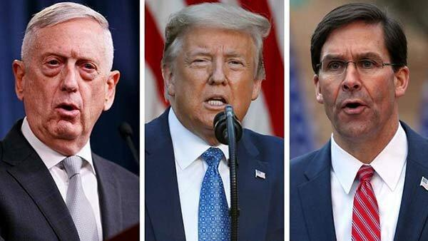 مخالفت نظامیان آمریکا با تصمیم های ترامپ