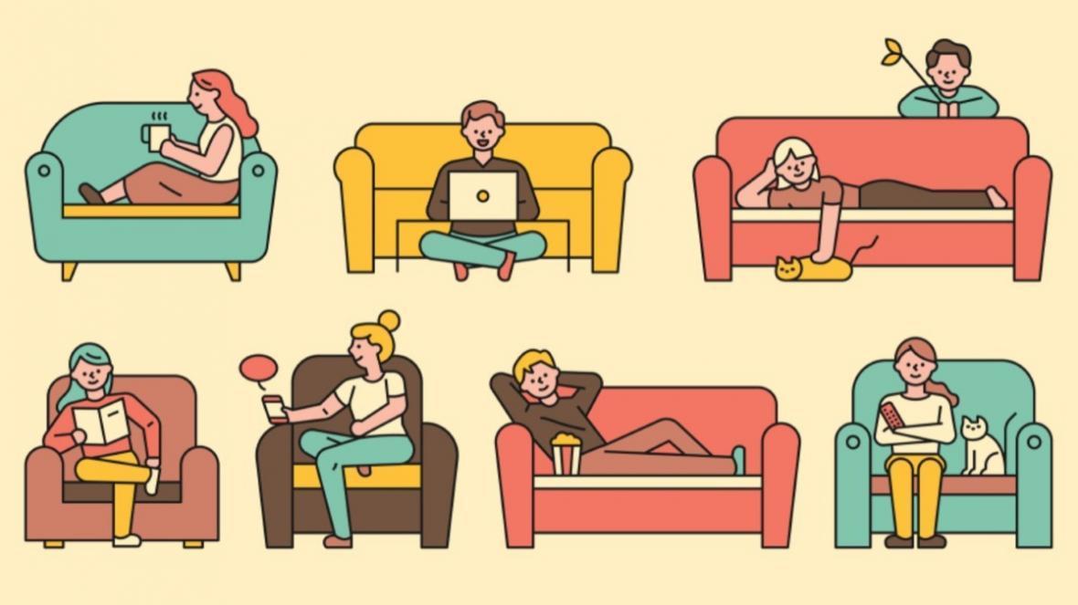 مبل راحتی ال یا انواع دیگر آن؟ کدام سبک مناسب منزل شماست!
