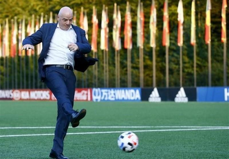 اینفانتینو: موافق تشکیل سوپرلیگ اروپا نیستم، می خواهم باشگاه های غیراروپایی هم محبوبیت جهانی پیدا نمایند