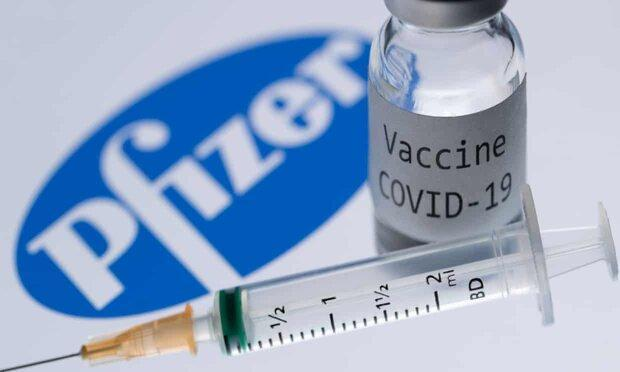 واکنش آلرژیک در بدن 2 دریافت کننده واکسن کرونای فایزر