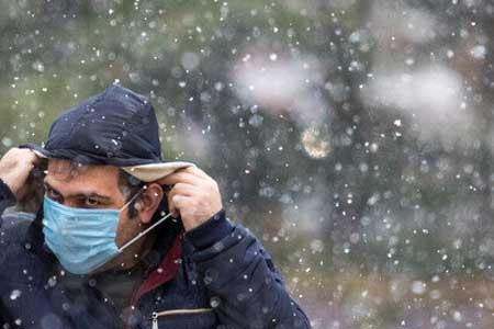 نقش برف و سرما در انتقال کرونا ، مردم خودشان را خوب بپوشانند