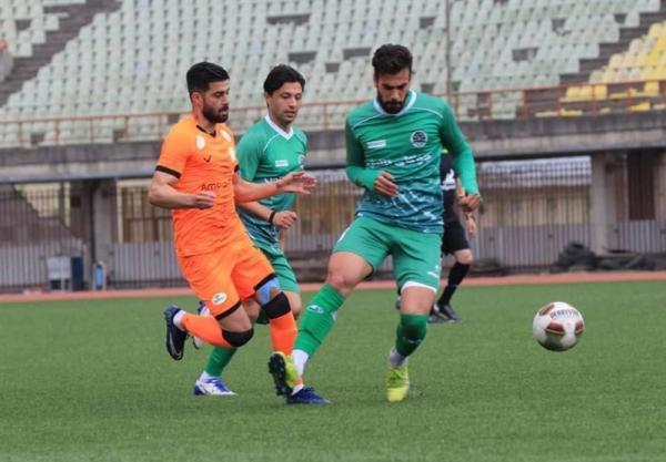 لیگ دسته اول فوتبال، توقف خانگی فجرسپاسی و پیروزی چوکا