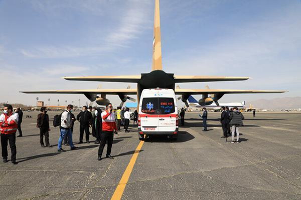اولین مانور امداد هوایی کلان شهر تهران برگزار شد