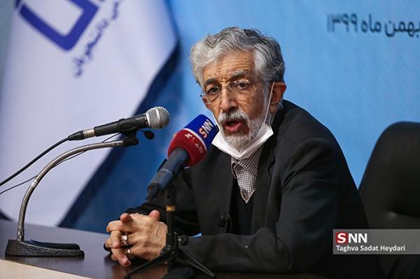 واکنش جنبش عدالت خواه دانشجویی به اظهارات انتخاباتی حداد عادل ، آقای حداد چه کسی شما را پدر ملت قرار داده؟ خبرنگاران