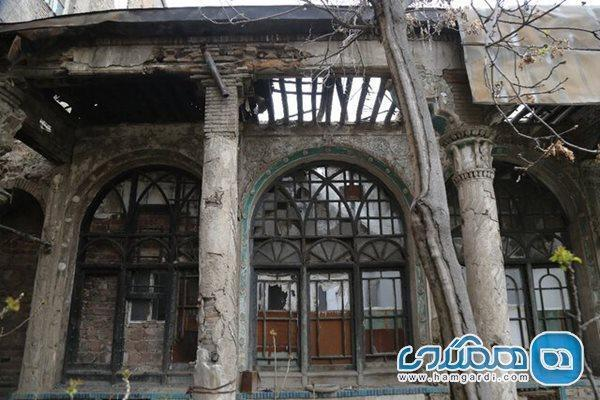 تملک باغ علاءالدوله و احیا و بازسازی خانه حاکم تهران
