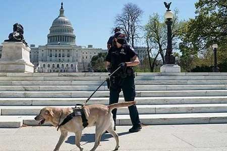 ساختمان کنگره آمریکا همچنان خبرساز است