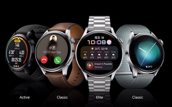 هواوی واچ 3 استاندارد و پرو معرفی شدند: اولین ساعت های هوشمند مبتنی بر سیستم عامل هارمونی با عمر باتری بیشتر