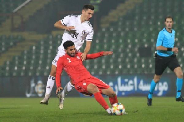 داور اردنی برای ملاقات تیم ملی ایران و هنگ کنگ