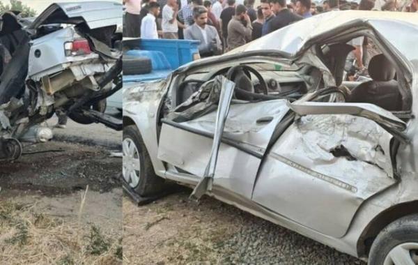 تصادف در محورهای کردستان جان 3 تبعه افغان را گرفت