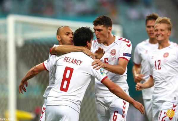 (ویدیو) خلاصه بازی جمهوری چک 1 - 2 دانمارک؛ صعود وایکینگ ها به نیمه نهایی