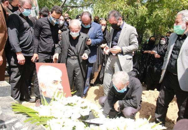عباس انصاری فرد در خانه ابدی آرام گرفت