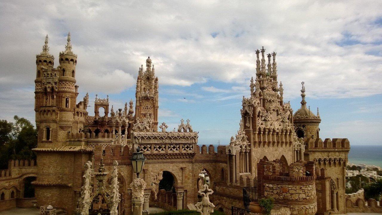 قلعه کریستف کلمب در کشور اسپانیا