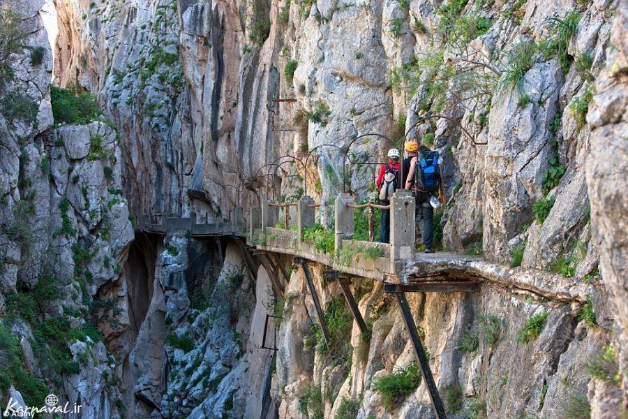 وحشتناک ترین جاده کوهستانی در کشور اسپانیا قرار دارد