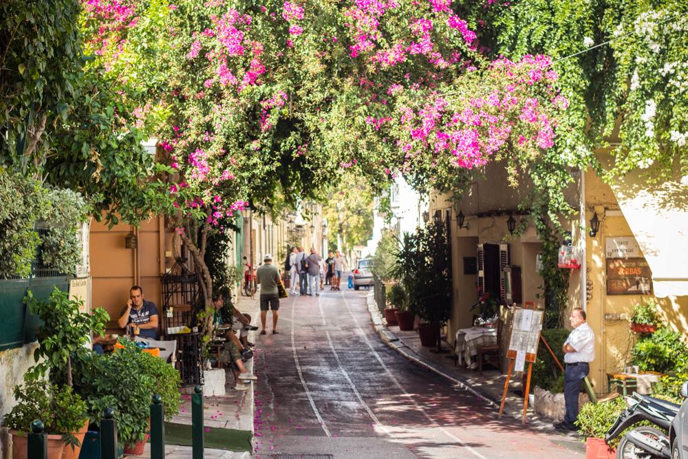 منطقه پلاکا در یونان