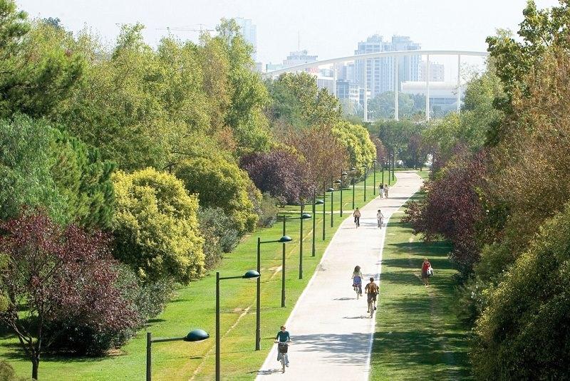 پارک توریا در والنسیا