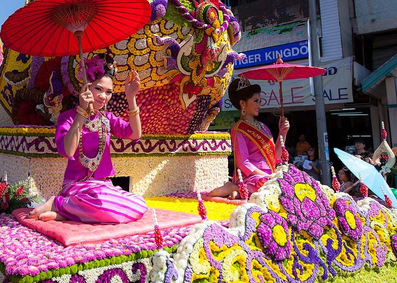 بهترین جشنوارهای تایلند