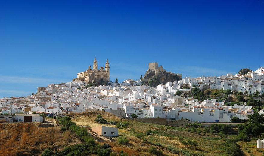 روستای کوچک اولورا در اسپانیا