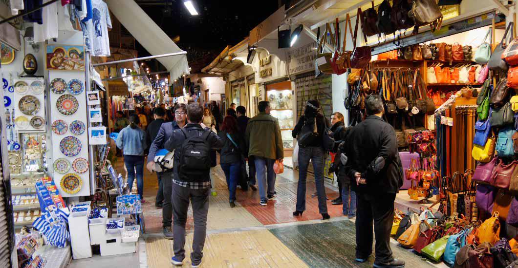 مراکز خرید آتن در کشور یونان